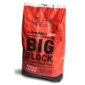 Kamado Joe Big Block XL Natural Lump Charcoal - 20lbs