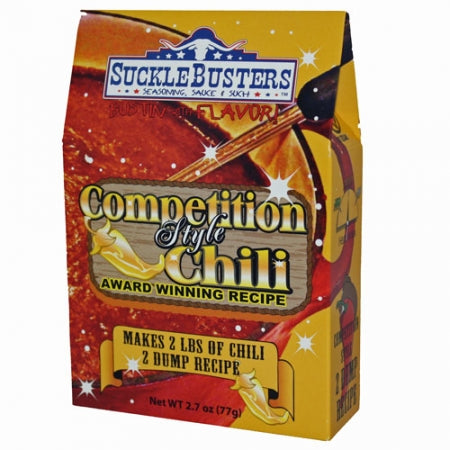 SuckleBusters Competition Style Chili Seasoning