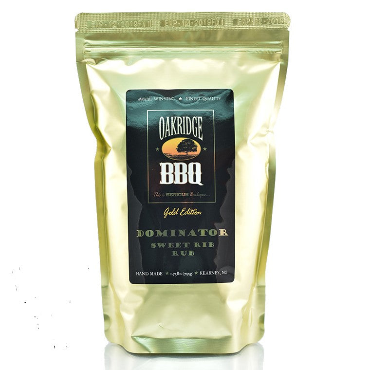 Oakridge BBQ - Dominator Sweet Rib Rub (1.75lb)