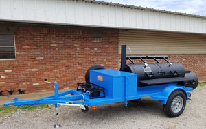 Horizon Smoker Front Mounted Double Fryer