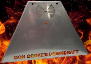 Don Godke's Downdraft - Daniel Boone or Jim Bowie Prime/Prime Plus/Choice Stainless Steel (GMG) - Smoker Guru