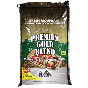 Green Mountain Grills Premium BBQ Pellets 28lb bag - Smoker Guru