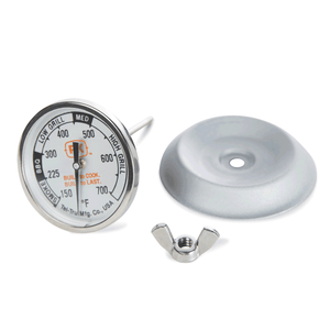 Portable Kitchen Tel-Tru Analog Grill Thermometer Gauge - PK99085