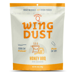 Kosmo's Q Honey Barbecue Seasoning Wing Dust (6oz)
