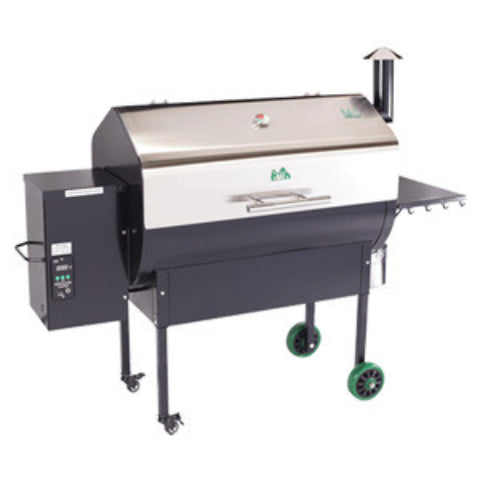 Green Mountian Jim Bowie Stainless lid WiFi pellet grill JBSSWF  Select