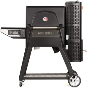 Masterbuilt Gravity Series 560 Charcoal Grill + Smoker, Black - MB20040220