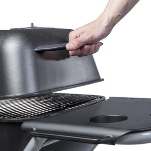 Portable Kitchen Original PK-TX Cast Aluminum Charcoal Grill and Smoker
