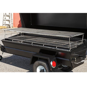 "Meadow Creek PR72GT 72"" Gas Pig Roaster Trailer"