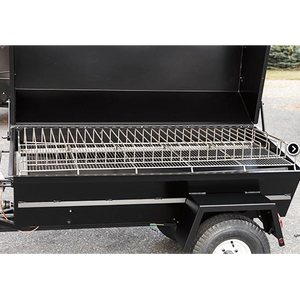 "Meadow Creek PR72 72"" Charcoal Pig Roaster"