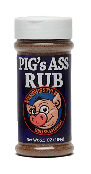 Pig's Ass Rub - Memphis Style BBQ Seasoning