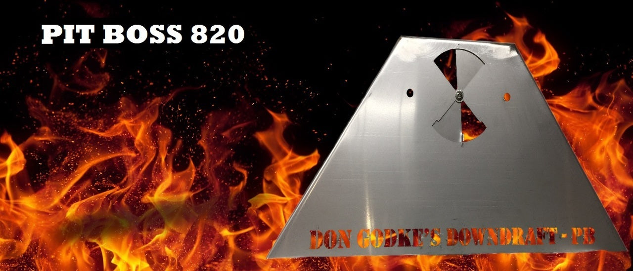 Don Godke's Downdraft - 820, 1000 & Austin XL Series Stainless Steel (Pit Boss)