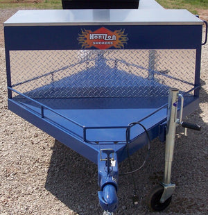 Horizon Smoker Plated Front Cargo Area w/ Railing
