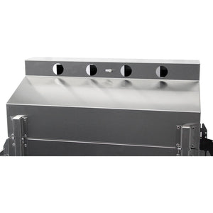 Phoenix Grill Stainless Steel Grill Head on Stainless Steel 3pc Column & Base - SDRIVDDP/SDRIVDDN