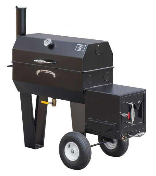 Meadow Creek SQ36 Offset BBQ Smoker