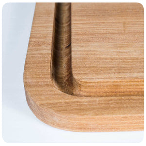 Portable Kitchen Durable Teak Cutting Board - PKUA-CB-TW-X