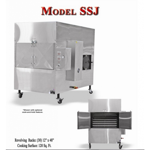 Ole Hickory Pits Model SSJ BBQ Smoker