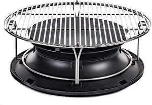Kamado Joe Classic SlōRoller With Flexible Cooking Rack - KJ-HYPER - Smoker Guru