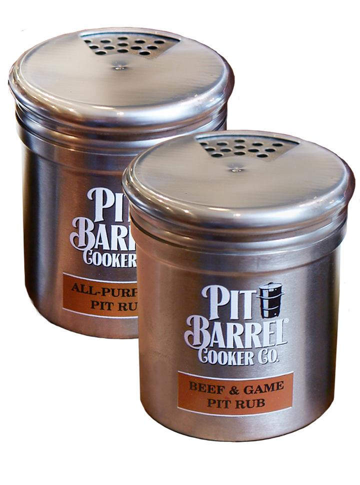 Pit Barrel Cooker Stainless Steel Shaker Set (2pcs) - AC1016