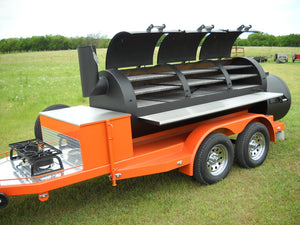 Horizon Smoker Step-Side Fender Package with LED Lights (Double Axle) - Smoker Guru