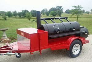 Horizon Smoker Step-Side Fender Package with LED Lights (Single Axle) - Smoker Guru