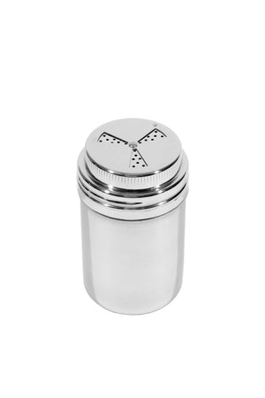Adjustable Stainless Steel BBQ Rub Dredge / Shaker 8 oz.