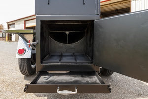 Meadow Creek TS120 Barbeque Smoker Trailer