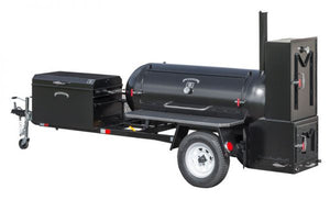 Meadow Creek TS250 Reverse Flow Smoker Trailer - Smoker Guru
