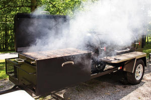 Meadow Creek TS500 Barbeque Smoker Trailer