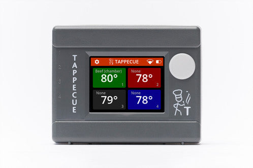 Tappecue Touch - 4 Probe WiFi BBQ Thermometer