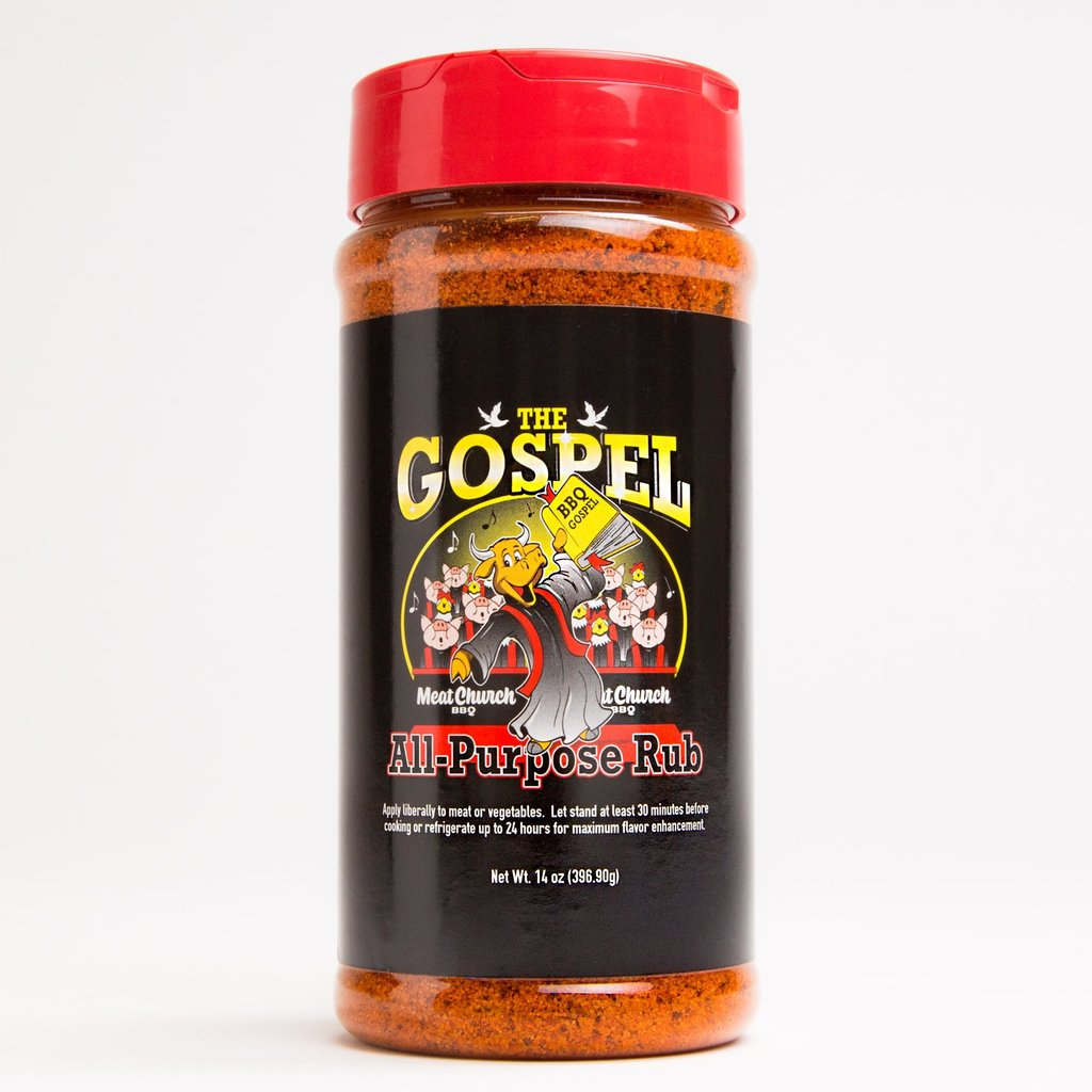 Meat Church The Gospel All Purpose BBQ Rub - 14oz