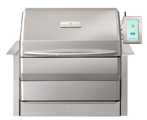 Memphis Grills Pro Wi-Fi Controlled 28-Inch 304 Stainless Steel Built-In Pellet Grill - VGB0001S