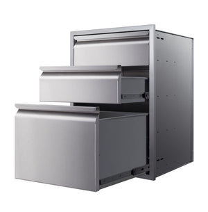 Memphis Grills 21-Inch Triple Access Drawer With Soft Close - VGC21DB3 - Smoker Guru