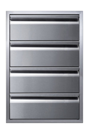 Memphis Grills 21-Inch Quadruple Access Drawer With Soft Close - VGC21DB4 - Smoker Guru