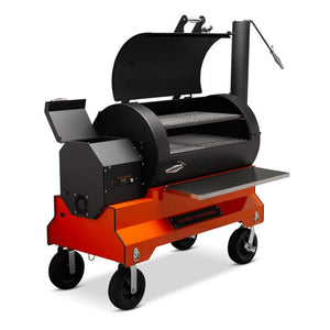Yoder YS1500s Pellet Grill Competition Cart