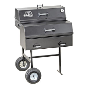 The Good-One Open Range Gen III 36-Inch Freestanding Charcoal Smoker Free Shipping