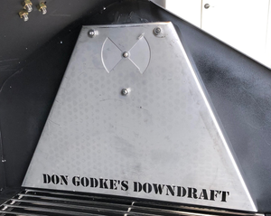Don Godke's Downdraft - Daniel Boone or Jim Bowie Prime/Prime Plus/Choice Stainless Steel (GMG)
