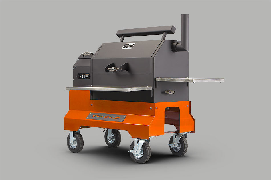 Yoder Smokers YS640 Pellet Grill Competition Cart - Discontinued