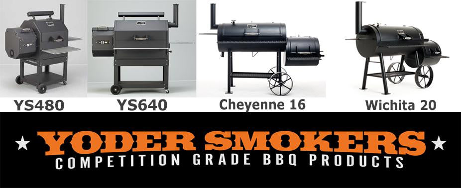 Yoder smokers - competition grade BBQ products