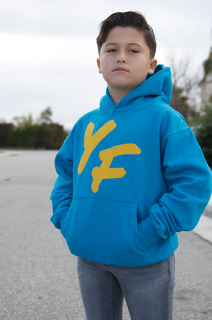 "Young Fashion New Kids ""Blue Lemonade"" Hoodie"