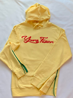 "YOUNG FASHION ""Tanzanian Yellow"" Hoodie"