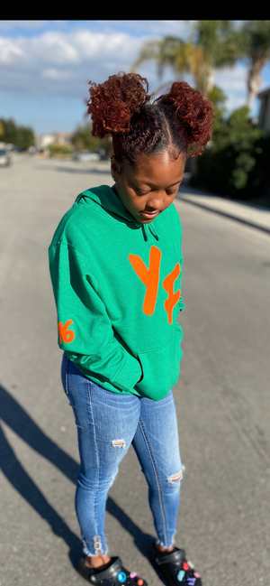 "YOUNG FASHION ""GREEN DAY"" HOODIE"