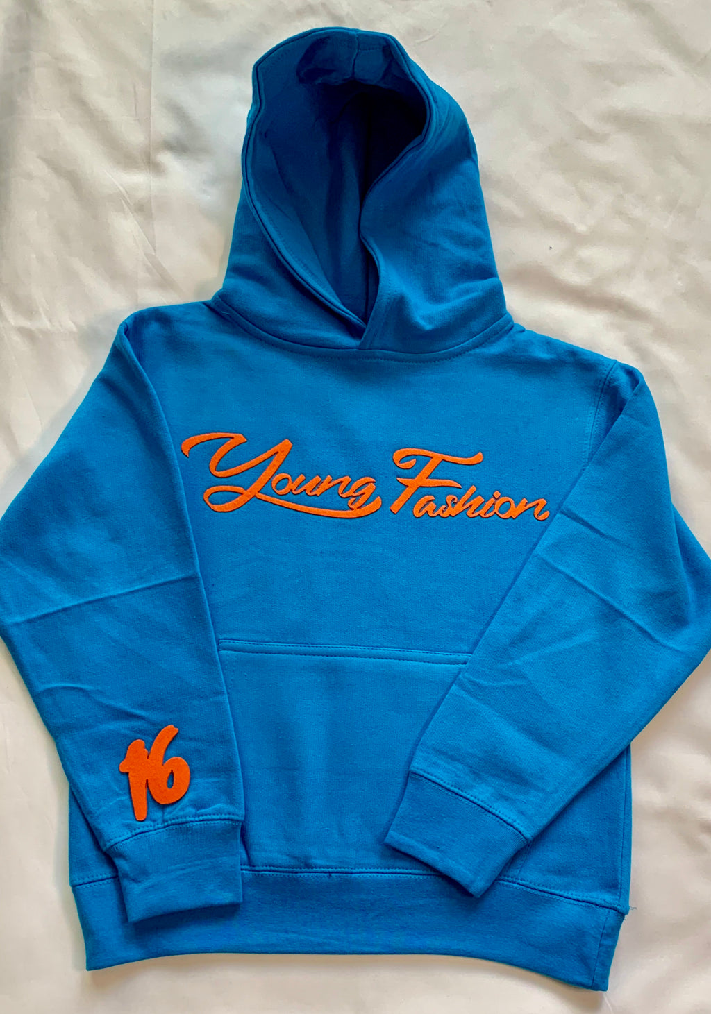 "YOUNG FASHION ""COOL BLUE"" 16 COLLECTION HOODIE"