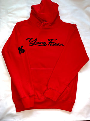 "YOUNG FASHION ""CHICAGO RED"" 16 COLLECTION HOODIE"