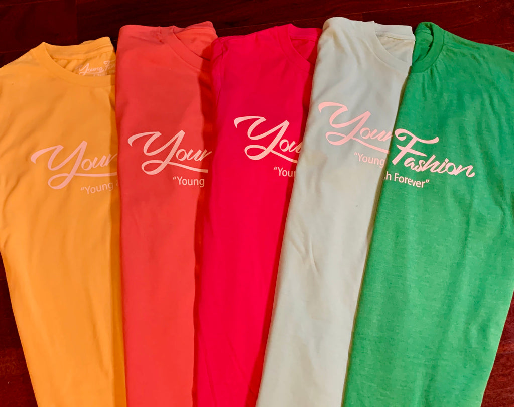 YOUNG FASHION 16 SIGNATURE TEE'S