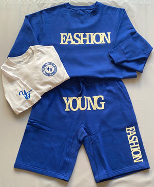 Young Fashion Summer 20/25 Royalty Shorts Set