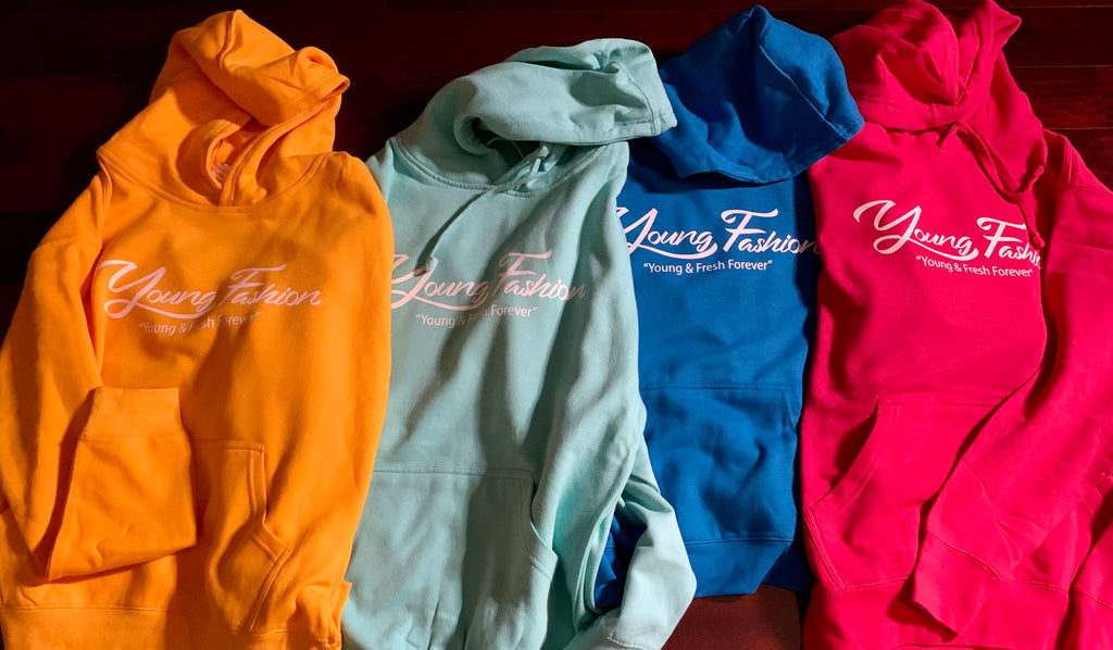 YOUNG FASHION 16 SIGNATURE UNISEX HOODIES