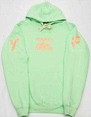 "YOUNG FASHION ""NEO MINT YOUNG & FRESH"" SPRING HOODIE"