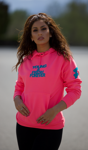 Young Fashion 16 Pink Paradise Young & Fresh Spring Hoodie