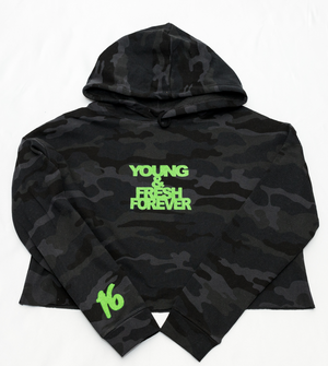 Young Fashion 16 Spring Crop Top Hoodies