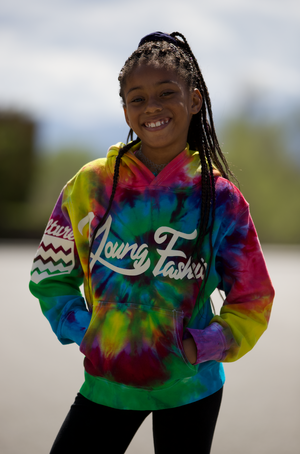 "YOUNG FASHION 16 ""KIDS TIE DYE"" SPRING COLLECTION"